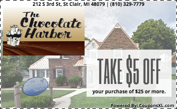 The Chocolate Harbor Coupon St. Clair MI
